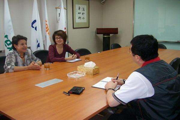 西班牙马塞特集团中国区总裁拜访忠进