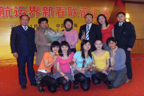 公司参加上海航运界新春联谊汇演