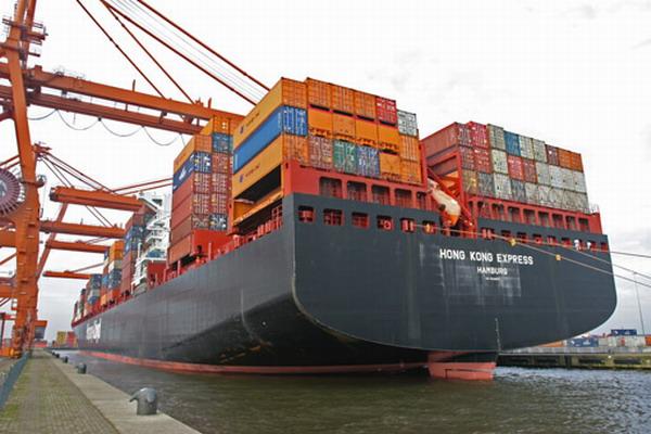 阿姆斯特丹港装卸船