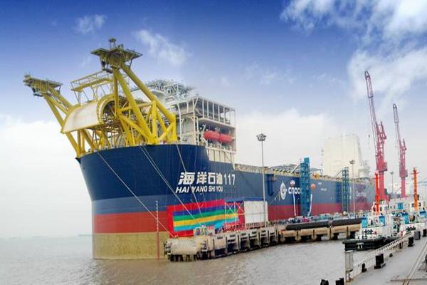 """DNV参与了""""海洋石油117""""号的入级服务"""