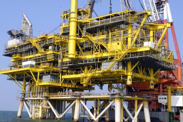 海洋工程设施井口平台