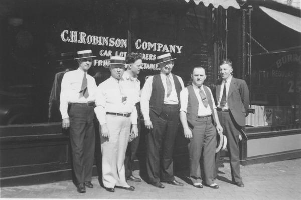 百年前C.H罗宾逊全球物流的创业者们