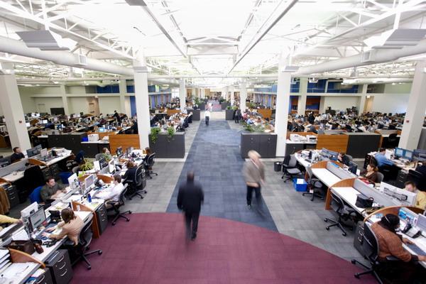 位于美国的C.H罗宾逊全球物流有限公司办公室
