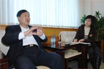 Mr. Gao Baoyu is interviewed by SHIPPINGCHINA journalist
