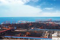 Coal terminal and yard of Yingkou Port