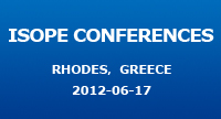 ISOPE Conferences, Symposia and Workshops