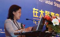Mrs. Chengwu, Vice Director of Ministry of Communications PRC