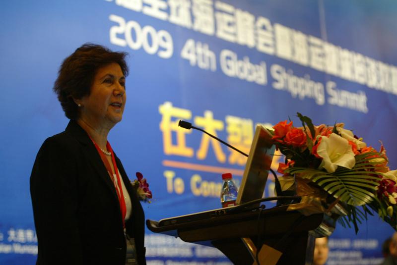 联合国多式联运协会主席Mahin Faghfouri女士