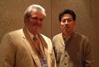 Mr.Kang Shuchun,CEO of Shippingchina, and Mr.William Gottlieb ,former chairman of FIATA