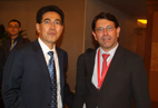 General Manager of  Le Havre Developpement and Mr.Kang Shuchu,CEO of Shippingchina