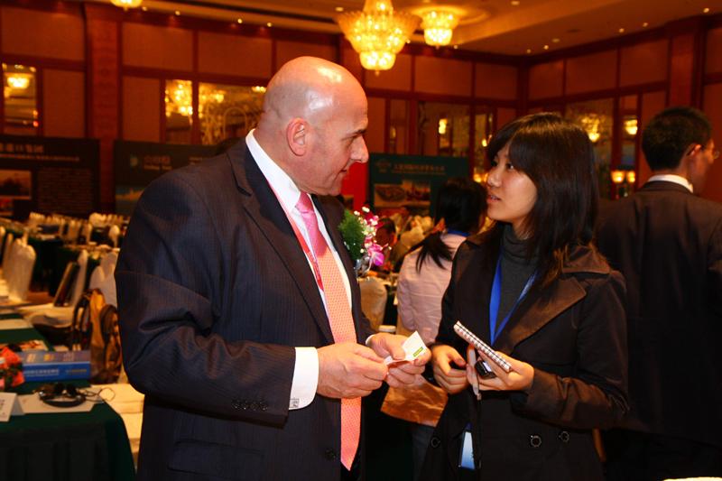 中国日报社记者采访Mark Millar先生