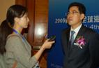 Broadcast Media interview the chairman of SHIPPINGCHINA, Kang Shuchun