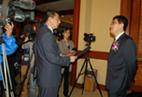CCTV interviews SHIPPINGCHINA CEO Mr. Kang Shuchun