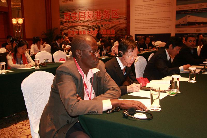 非洲企业踊跃参加对接会议