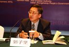 Professor Guo Zijian from Dalian Maritime University