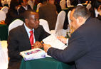 尼日利亚和印度两家企业洽谈合作