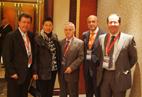 西班牙城市市长,商会会长及西班牙大众集团总裁应邀参加全球海峰会主办方晚宴