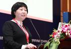 Ms. Zhao Shuchun, WIFFA's Chairman of Dalian Port & GM of Dalian Kangning Logistics Co., Ltd.