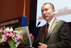 Mr. Zhang Jun, Representative of WIFFA's Chairman of Shanghai Port from Shanghai Amass Freight Int'l Co., Ltd.