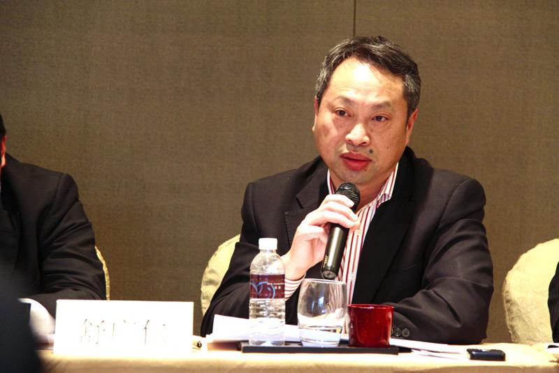 Mr. Shu Guangren, Deputy GM of Nanjing Tanker Corporation