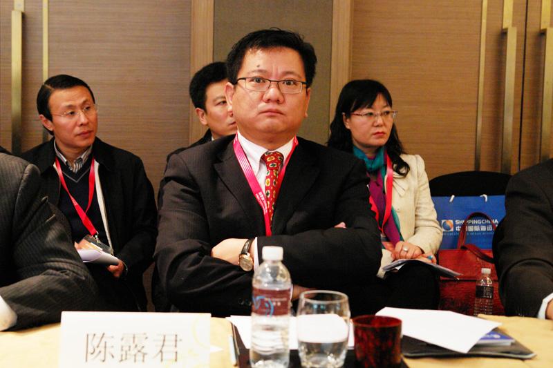 厦门口岸副理事长汉航物流董事长陈露君