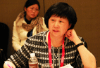 Ms. Zhao Shuchun, WIFFA's Chairman of Dalian Port & GM of Dalian Kangning Logistics Co., Ltd.