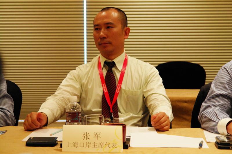 上海口岸主席代表美设货运张军总经理