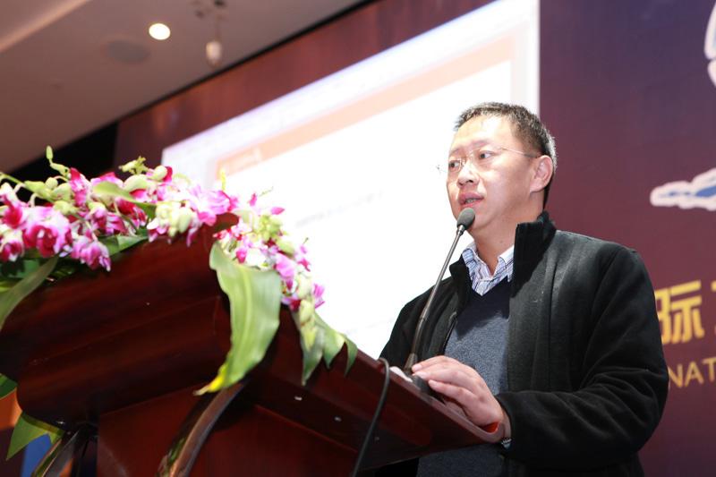 青岛口岸主席全球捷运物流集团姚溯总经理