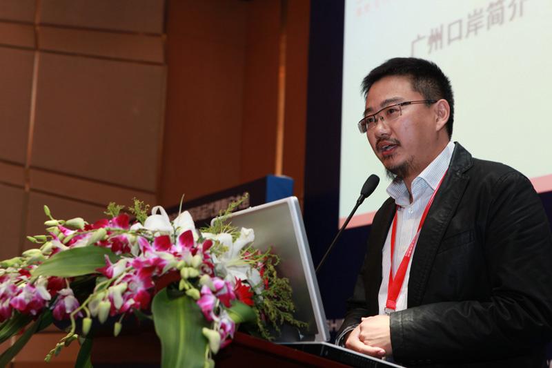 广州口岸主席广州桥集拉德国际货运代理崔维强总经理