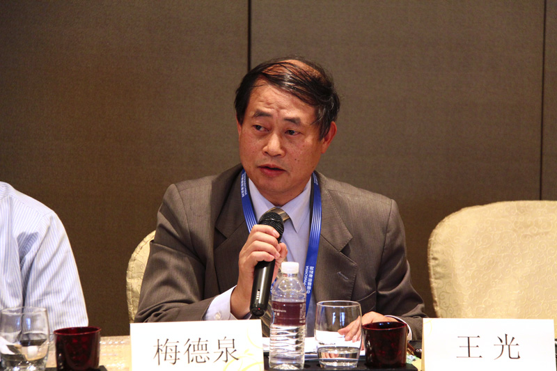 Mr. Zhang Shenggui, Deputy GM of Minsheng Shipping Co., Ltd. Shanghai Branch