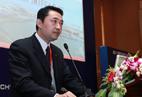厦门口岸主席联球海空物流(中国)有限公司总经理陈明湖演讲