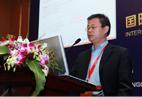 深圳口岸主席深圳市迅航星辰国际物流有限公司总经理朱艳军演讲