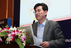 WIFFA秘书长中国国际海运网总裁康树春演示庄家订舱系统