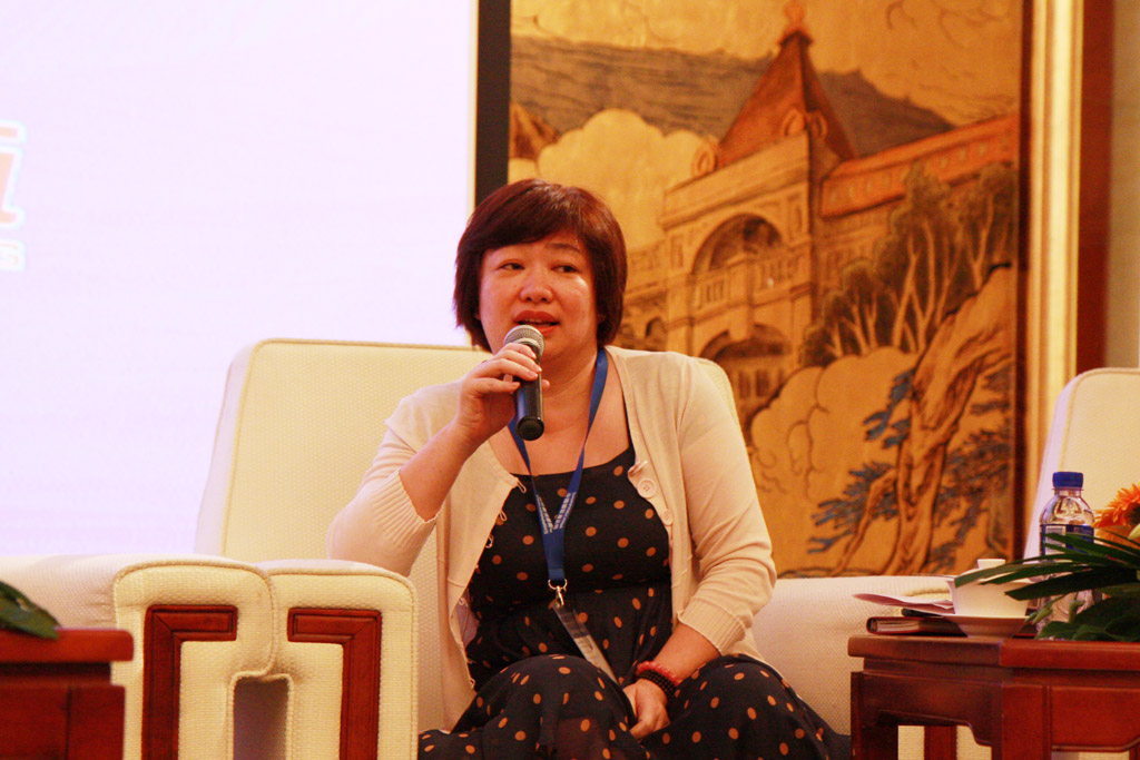 Ms.Cindy Yang,General Manager of Global Way Tone Logistics (Xiamen) Co., Ltd.