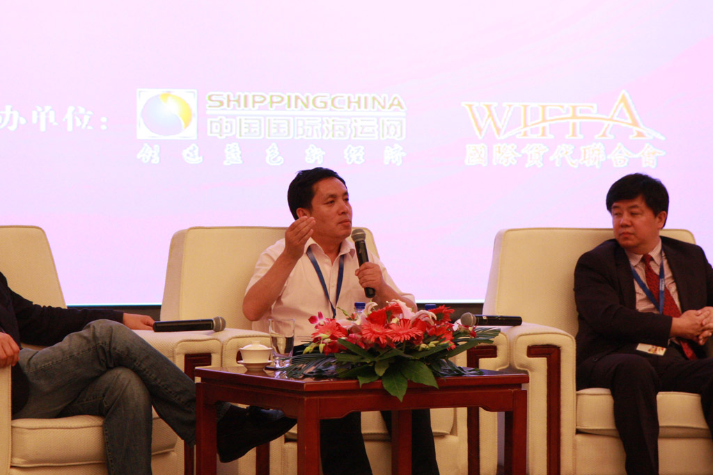 Mr.Sun Jiawen, General Manager of Fortune Delivery Logistics Co., Ltd.