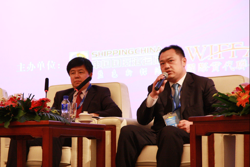 Mr. Liu Yu, President Assistant of Zhenhua Logistics Group Co., Ltd.