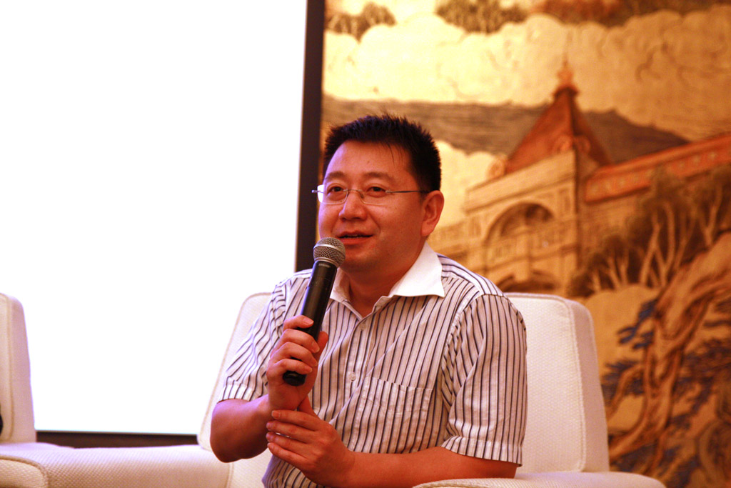 Mr.Wei Xu Ming, General Manager of Trans-Hope International Logistics Co.,Ltd.
