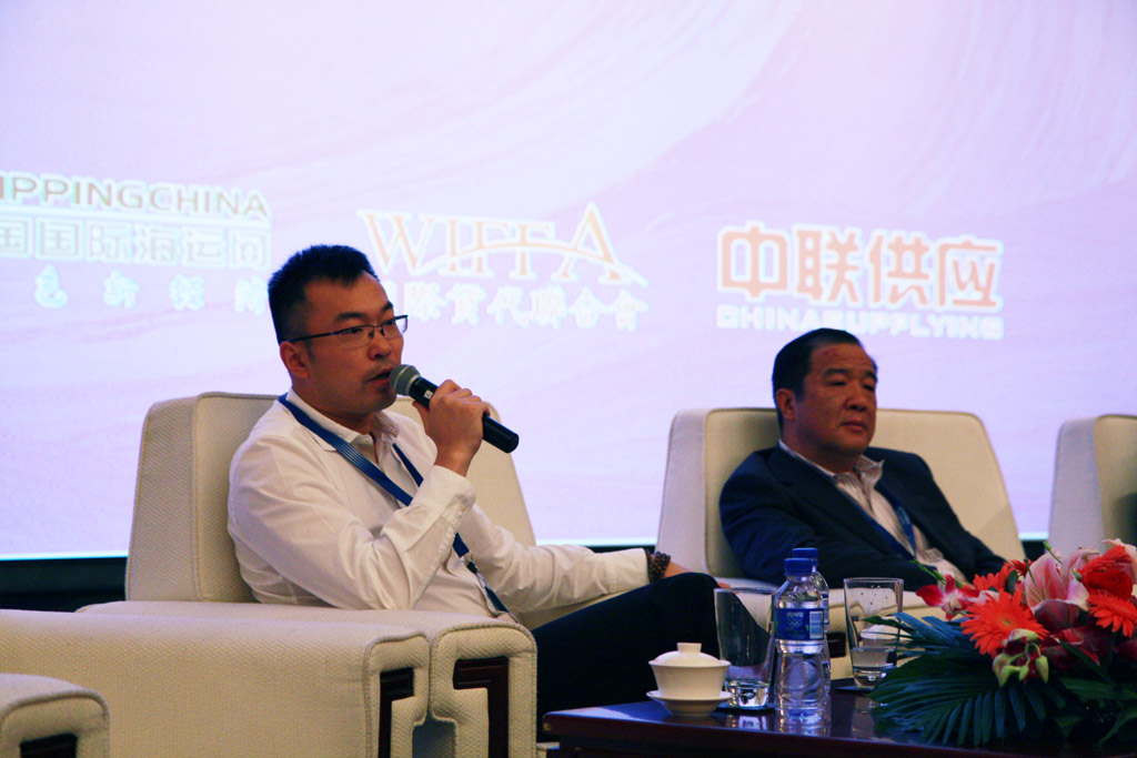 Mr. Xu Yi, President of Shanghai Great-micro International Freight Forwarding Co., Ltd.