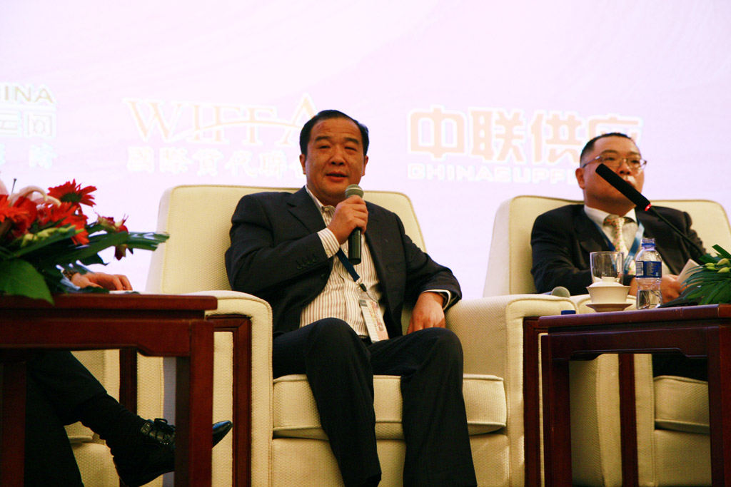 Mr.Chen Guoliang, General Manager of Tian Jin Tianwoo Logistics Developing Co., Ltd.