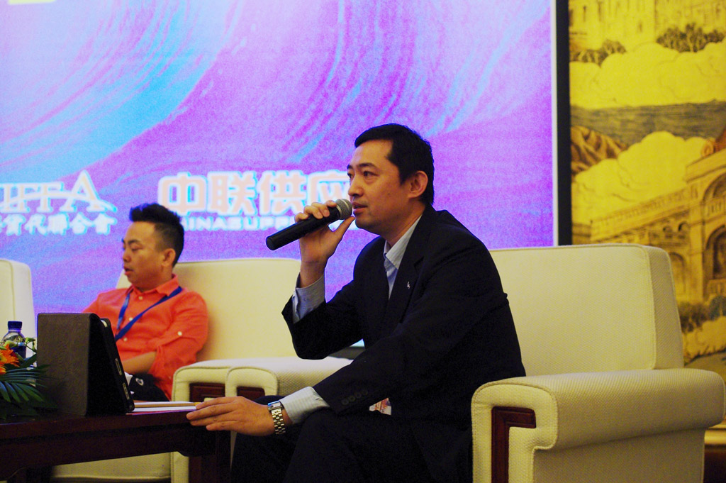 Mr.Chen Minghu,GM of Globe Cargo Logistics (China) Ltd. (Shanghai)