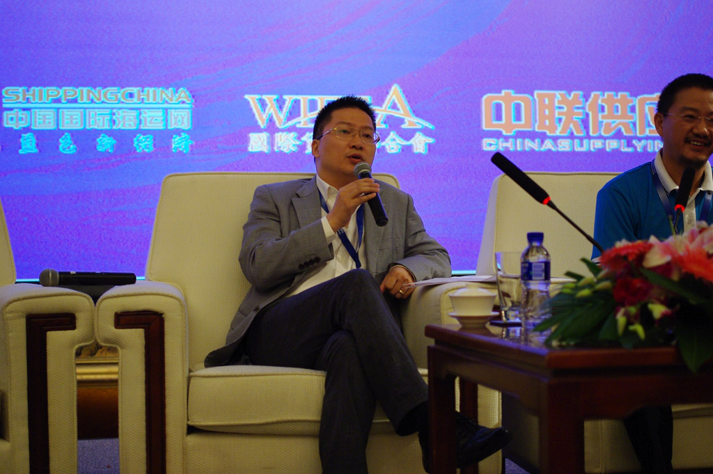 Mr.Zhu Min, General Manager of ShangHai Syntrans International logistics Co., Ltd.