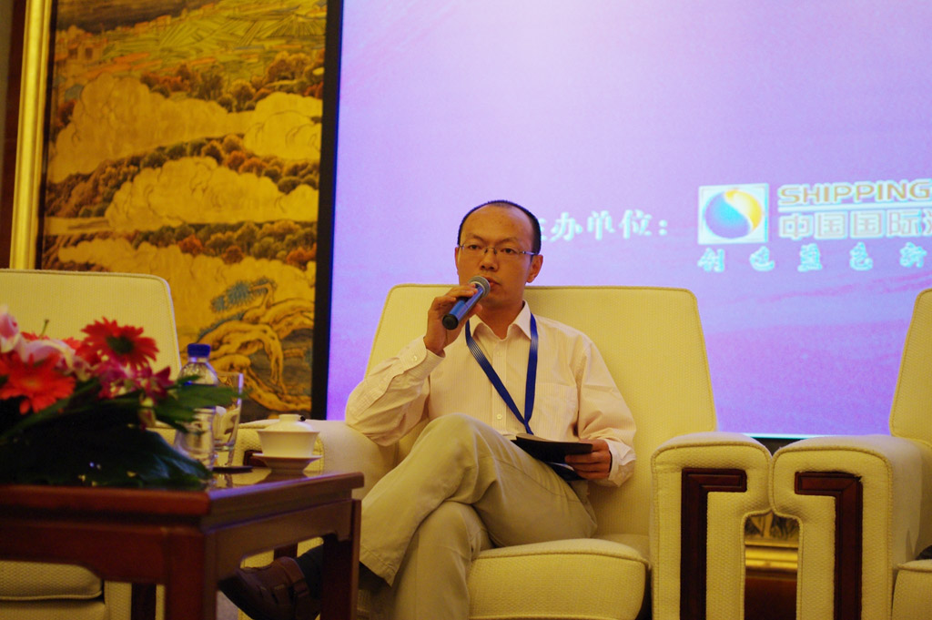 Mr.Xie Xie,Researcher of Waterborne Transport Research Institute