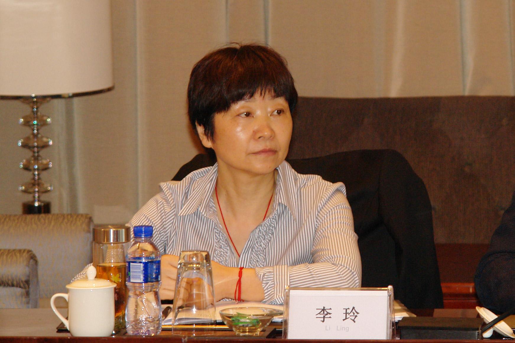 WIFFA秘书长李玲女士