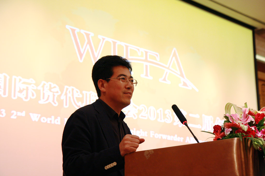 Mr. Kang Shuchun, Council President of WIFFA, CEO of Shippingchina Group Co., Ltd.