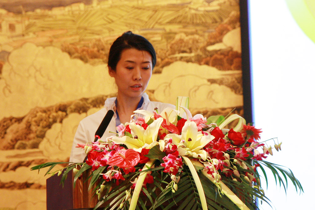 Ms. Cui Huan, Gerneral Manager of Gangji Shipping Agency Co.,Ltd.