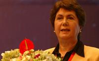 Mahin-Faphouri女士 联合国国际多式联运协会主席