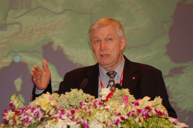 德国汉堡港总裁Mr. Jürgen Sorgenfrei解析港口新经济