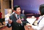 中远集团总裁魏家福接受海运网记者专访