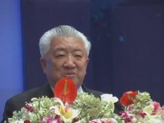 原交通部部长钱永昌致辞