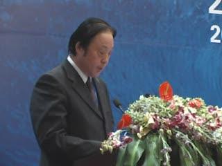 东方国际物流集团总经理杨根先生讲演